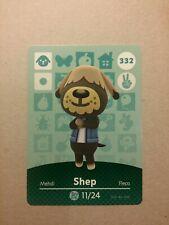 Animal Crossing Amiibo Karte Shep/Thomas #332