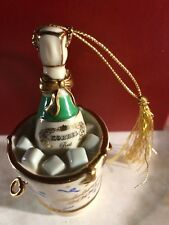 Lenox Celebrate 2000 Millennium Edition Ornament Champagne In Bucket