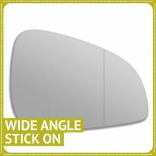 Right hand Driver side for Peugeot 407 09-10 wing mirror glass Wide Angle