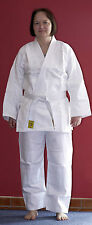 Judoanzug Judo Anzug weiß, Reiskornwebung, Größe wählbar, Mod. 14 OHNE Gürtel