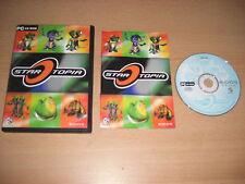STARTOPIA PC CD ROM Star Topia-Original mit Handbuch-schneller Versand