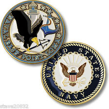 NEW U.S. Navy - Naval Base Point Loma Challenge Coin. 61787.