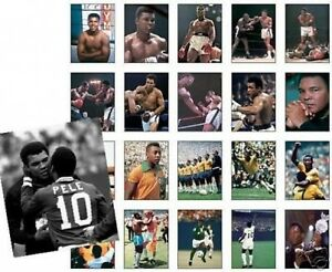When Muhammad Ali Met PELE new Trading Card Set FREE UK POSTAGE