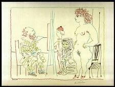 PICASSO 1955 LITHOGRAPH w/COA. UNIQUE & EXCLUSIVE Pablo Picasso RARE ART PRINT