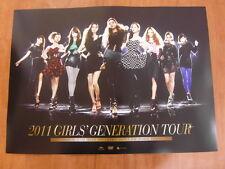 SNSD GIRLS' GENERATION 2011 Tour [OFFICIAL] POSTER K-POP *NEW*
