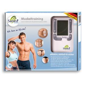 SaneoSPORT Muskeltraining EMS Gerät Muskelstimulator