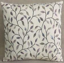 "John Lewis Voyage Cervino Fabric Cushion Cover 18""x18"" Lilac Leaf Trail"