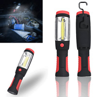 2in1 COB LED Camping Work Inspection Light Hand Torch Lamp Magnetic Flashight
