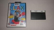 SMS Sega Master System cartucho Klax