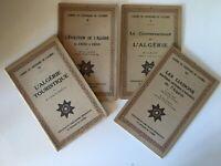 Lotto Quaderni Del Centenario Di ALGERIA 3 5 7 8/12