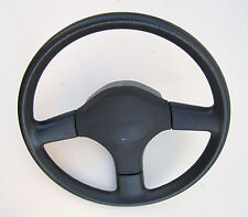 "STEERING WHEEL, 15"" dia., blue, used, 1989 Toyota Celica, 4th Gen"