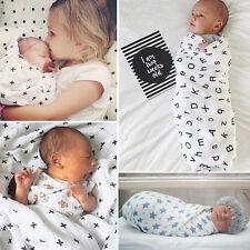 100% Muslin Cotton Newborn Infant Swaddle Baby New Blanket Parisarc Wrap Towel