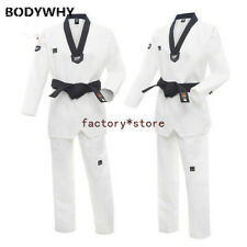 Uniform Child Adult Taekwondo Karate Cotton Breathable Fitness Sportswear Set