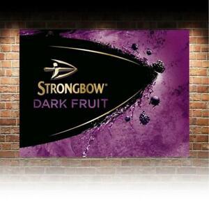 Strongbow Dark Fruits  Cider SIGN METAL PLAQUE retro Advert Bar Man cave Pub