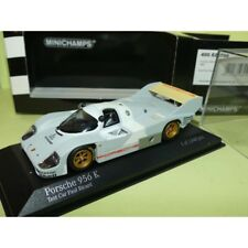 PORSCHE 956 K TEST CAR PAUL RICARD 1982 MINICHAMPS 1:43