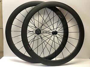 new CARBON FIBER Road Clincher 700C bicycle wheelset Shimano cassette