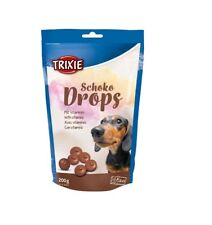 DOG CHOC DROPS 200g SAFE Chocolate Treat Buttons For Your Dog TRIXIE