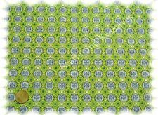 Abby Love Baumwolle Popeline grün Hilco Webware Meterware 25 cm