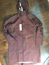 LULULEMON lab ASHTA parka small OVERCOAT rain WATERPROOF jacket COAT softshell