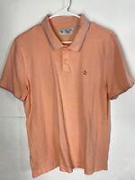 Penguin by Munsingwear Classic Fit Polo shirt Orange Men's Size L Large Rare