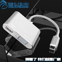 Sn _ Wo _ USB 3.1 Type C Mâle vers 4Kx2K HDMI VGA Femelle Hub Adaptateur Câble