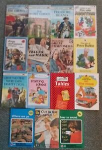 Ladybird Books Job Lot Bundle of 15 Books. inc. The Fireman VINTAGE VGC