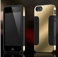 Frame Chrome Hard Back Case Cover For Apple iPhone 4 5 5s+Screen Protector