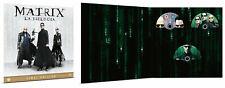 Matrix - La Trilogia - Vinyl Edition - Cofanetto Con 3 Blu Ray- Nuovo