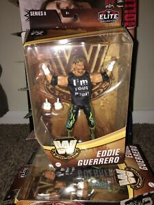 WWE Eddie Guerrero Elite Legends Series 8 action figure