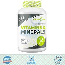 6PAK el Efectivo Línea Multi Vitaminas y Minerales Sport Suplemento 90 Tabletas