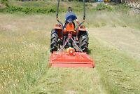 WSM Mähwerk / Mulcher SMK120 für Kubota Iseki Traktor