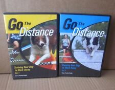GO THE DISTANCE shows Training Your Dog To Work Away training 2-DVD jumper class