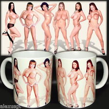 tazza mug sexy BIG TITS MODEL girls boobs naked scodella ceramica