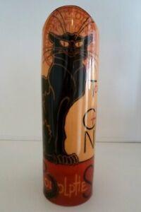 John Beswick Steinlen Le Chat Noir Ceramic Art Vase 26cms Height