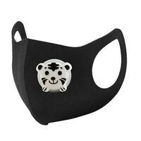 3Pcs Kid Sponge Masks Washable Mask with Respiration Valve Fast Shipping BU