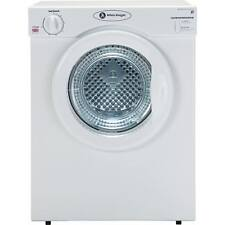 White Knight C37AW C Rated 3kg 2 Temps Vented Tumble Dryer With Timer