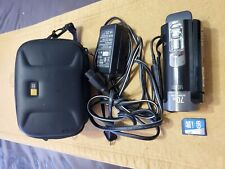 Sony Handycam DCR-SX85 Camcorder with Case, Battery, Charger & 8GB Card