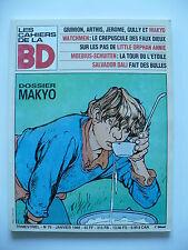 Magazine (très bel état) - Les cahiers de la bande dessinée 79 (Makyo)