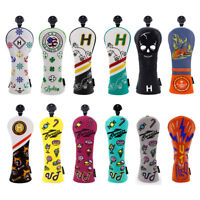 Golf Headcover Hybrid UT Cover with Number Tag Wholesale for Taylormade Callaway