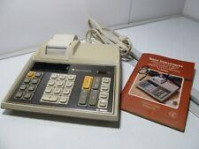 1980s' Vintage Ti-5040 Texas Instrument Electronic Adding Machine