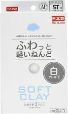 Paper clay, Soft clay @ Daiso Japan [White]  art Material Craft stay home F/S