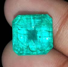 Natural Loose Gemstone 8.00 to 10.00 Ct Certified Square Emerald Best Offer
