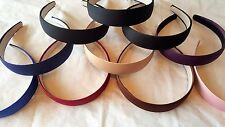Joblot 30 pcs Mixed color Plain Headbands NEW wholesale Lot J
