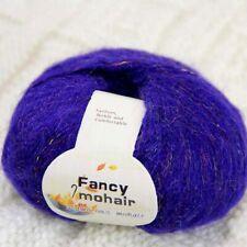 Sale 1 Ball X 50gr Yarn Fluffy Soft MOHAIR Rainbow Shawls Hand Knit Crochet 03