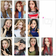 10pcs/set Kpop ITZY Photo Stikcy Card IT'z Different Lia HD Photocard Sticker