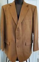 NWT! Men's Options STAFFORD Micro Polyester 3-Button SUIT COAT Blazer Jacket 46L