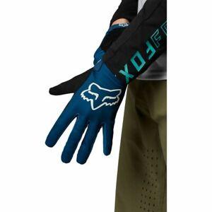 New Fox RANGER Mountain Bike Cycling Gloves Dark Indigo Medium  27162-203-M