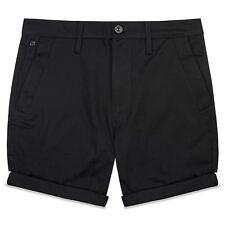G-Star Pantalones Cortos - BRONSON CHINOS - Negro, azul marino, marrón, verde,