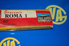 Coleccionismo SOUVENIR ROMA 1 - 60 diapositivas vintage de la ciudad-años 50/60