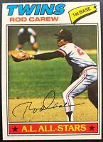 ROD CAREW 1977 TOPPS AL ALL-STARS VINTAGE BASEBALL CARD #120